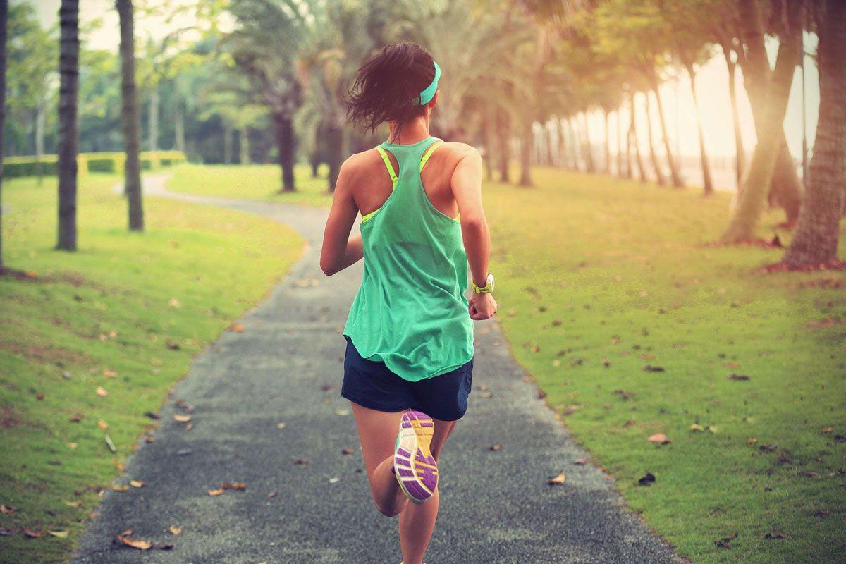 Woman-Jogging