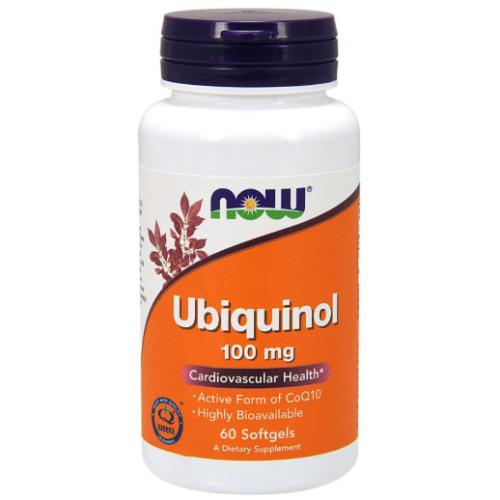 NOW-Ubiquinol-100mg-60-softgels