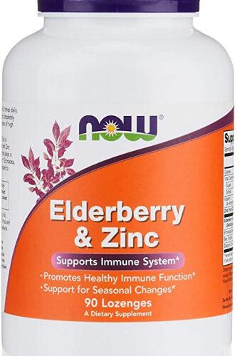 NOW, NAC, Rebekahs, Elderberry, Zinc, Rebekah's Health and Nutrition