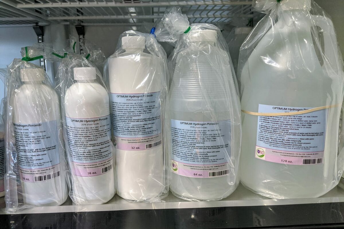 35% Food Grade Peroxide